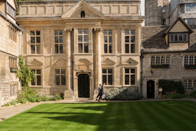 The Chapel, in the Front Quad of St Edmund Hall