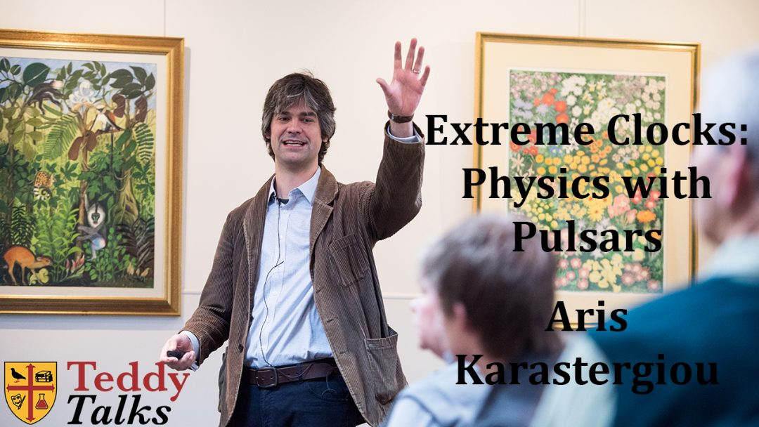 'Extreme Clocks' - a talk by Aris Karastergiou