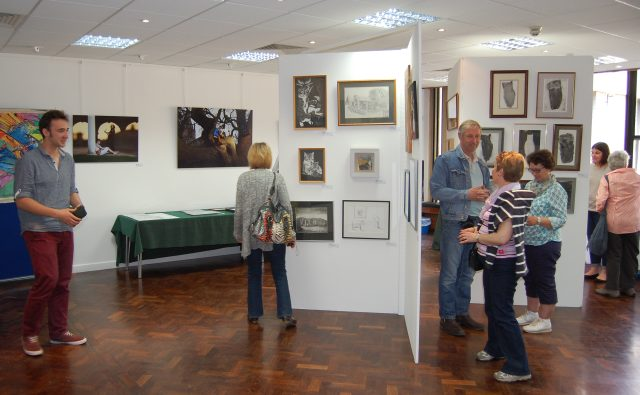 An Artweeks exhibition at St Edmund Hall