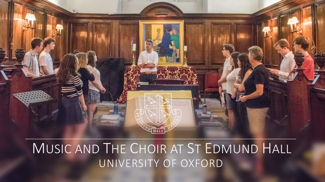 A video about music and the choir at St Edmund Hall
