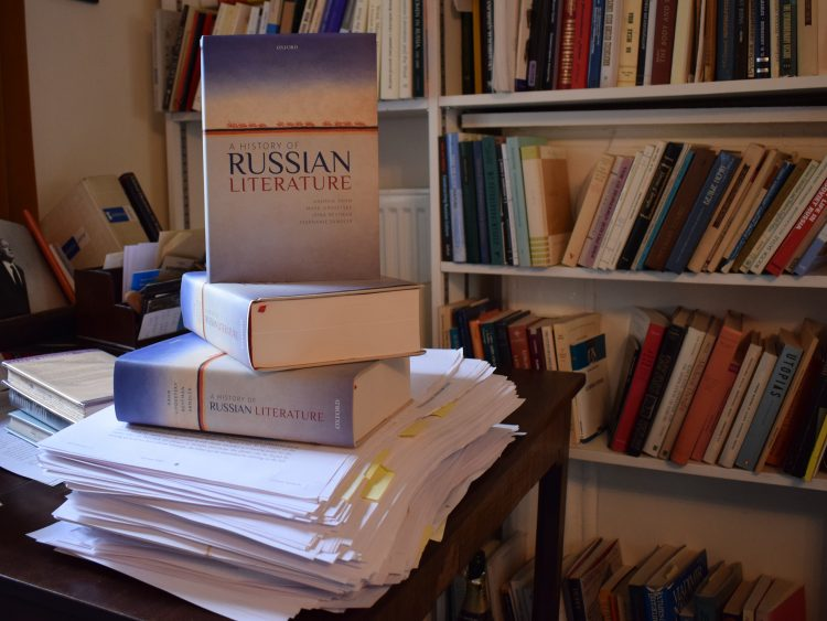 Copies of A History of Russian Literature