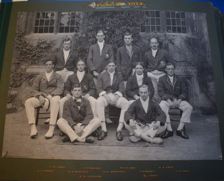 The cricket team of 1914