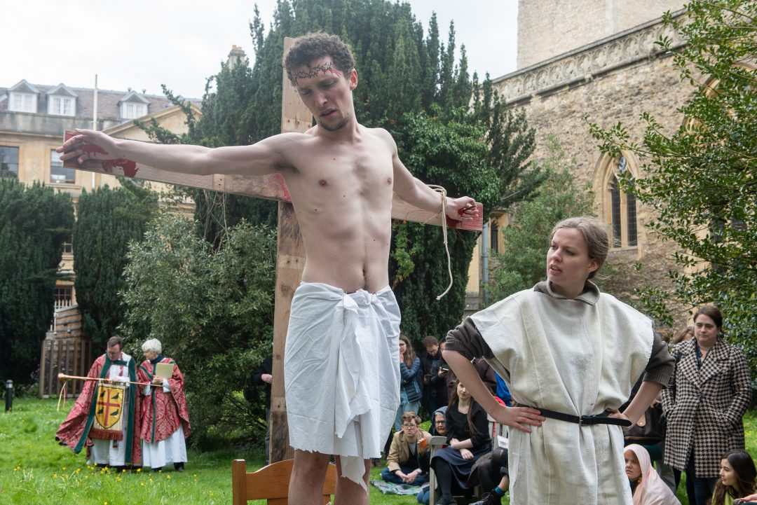 Oxford Medieval Mystery Play: Crucifixion and Lamentation