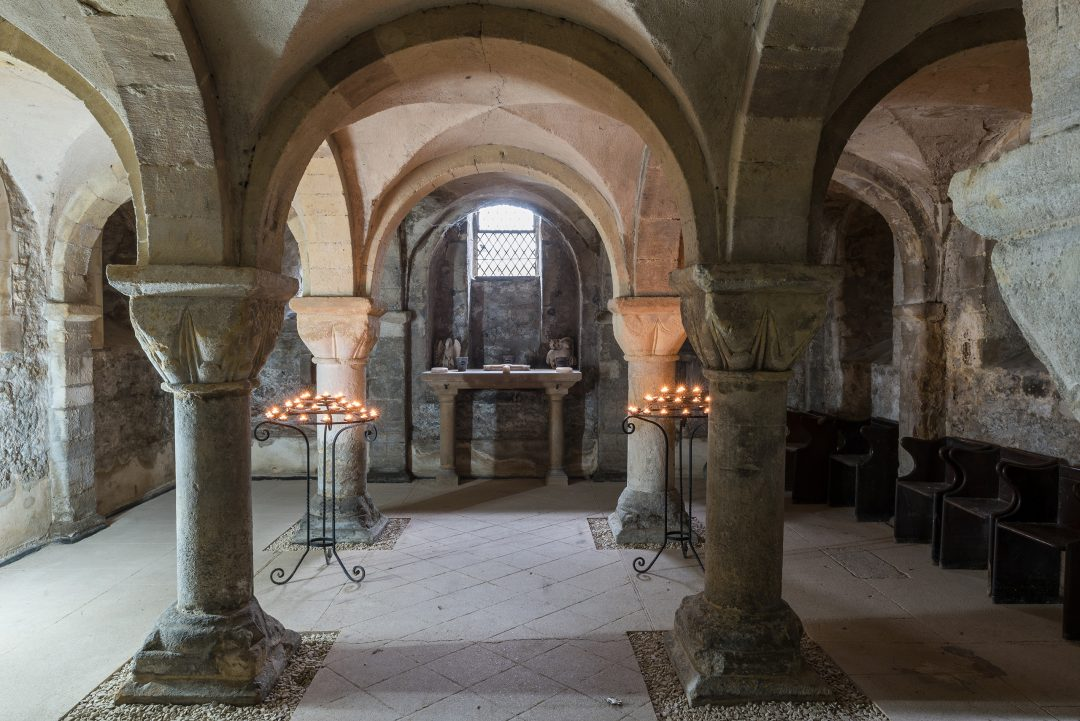 The Crypt beneath St Peter-in-the-East, at St Edmund Hall