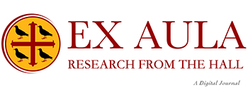 Logo for Ex Aula, the MCR's online research journal