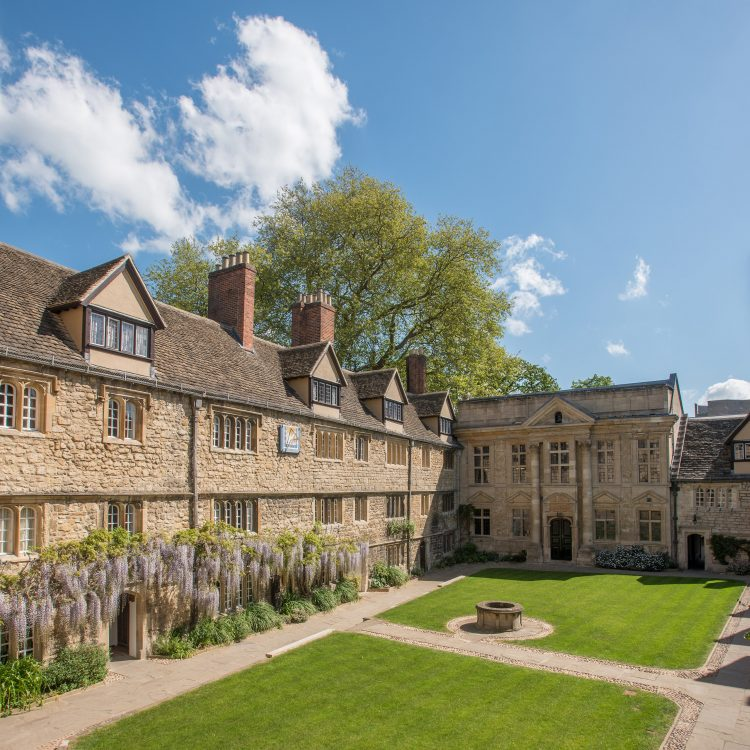 The Front Quad of St Edmund Hall