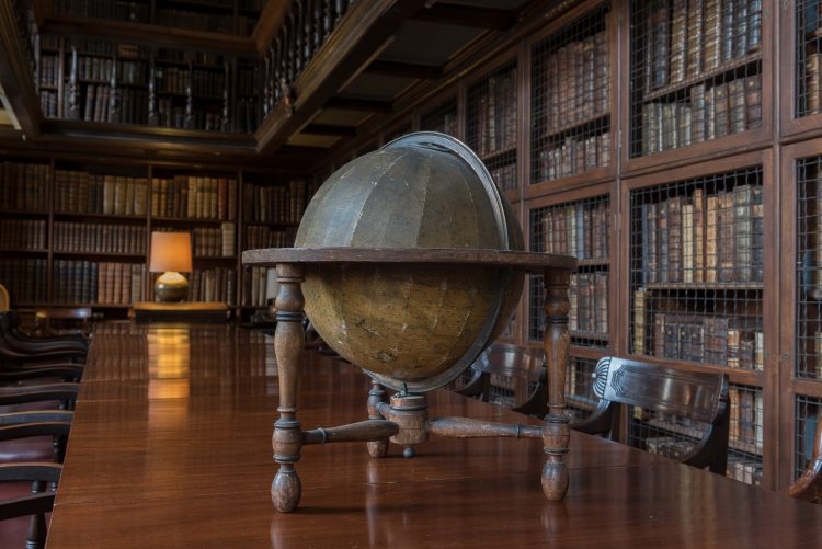 Globe in the Old Library