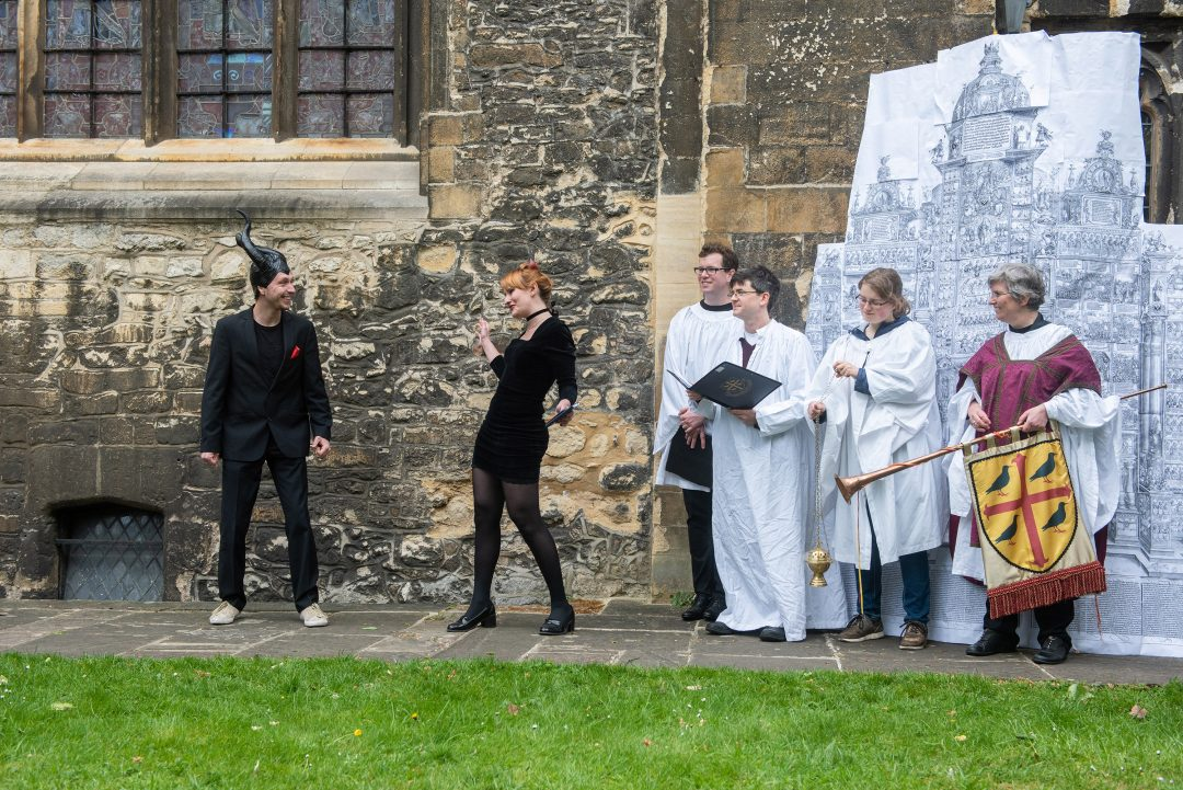 Oxford Medieval Mystery Play: Harrowing of Hell