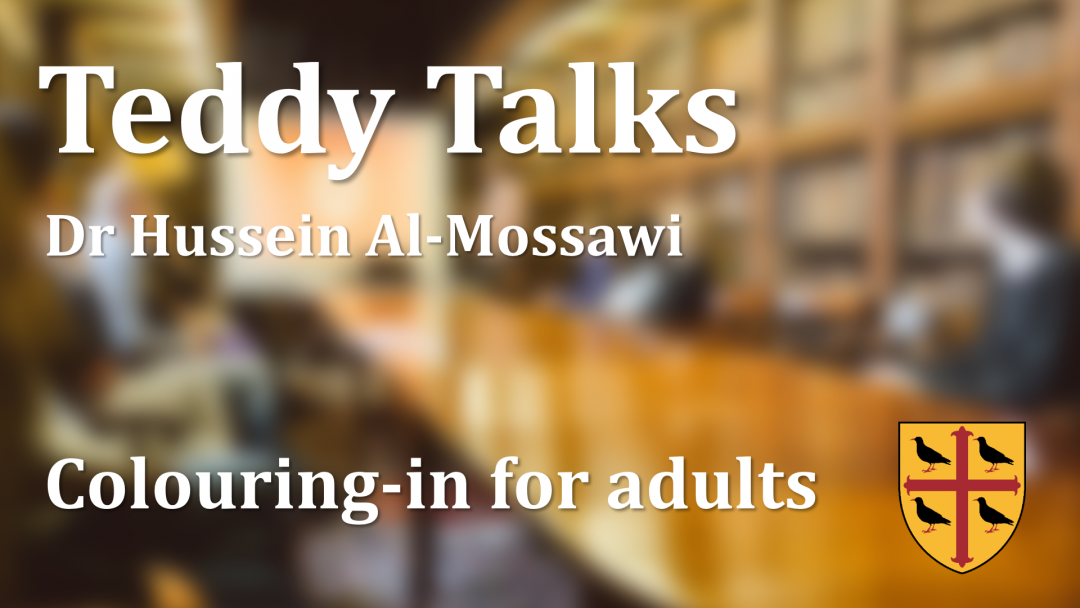 A video of a talk by Hussein Al-Mossawi entitled 'Colouring-in for Adults' about flow cytometry