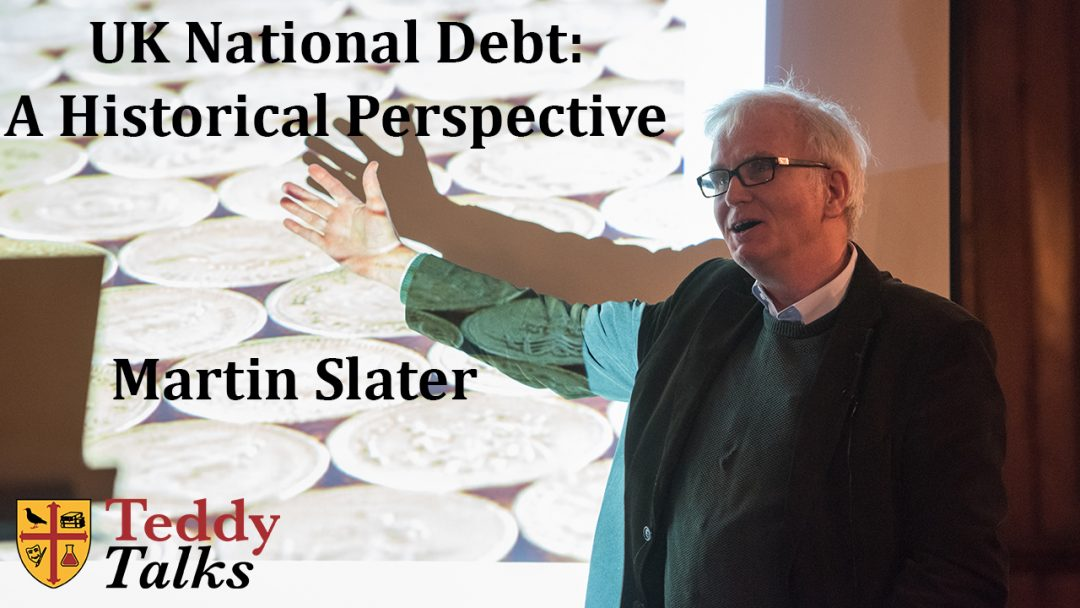 Martin Slater's talk on the UK National Debt, given at the College's Research Expo