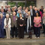The Matriculands of 1957 and their guests, at the 2017 reunion