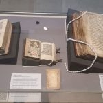 Display of medieval manuscripts