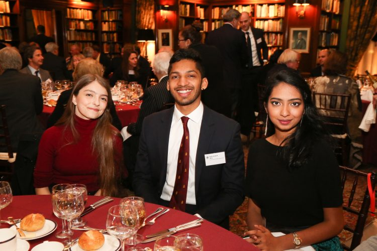 Alumni at the annual New York Dinner