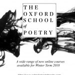 Oxford School of Poetry poster