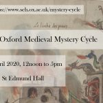 Oxford Medieval Mystery Cycle 2020