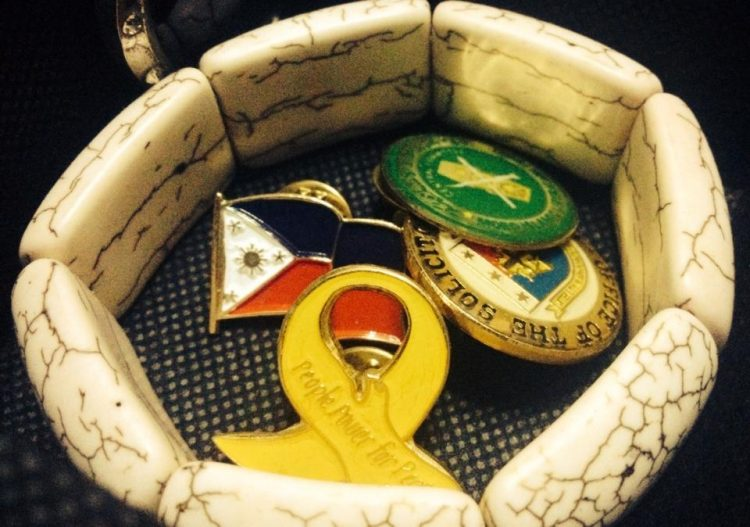 Peace Negotiations Pins