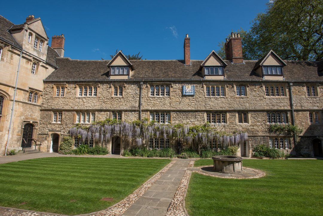 The St Edmund Hall quad