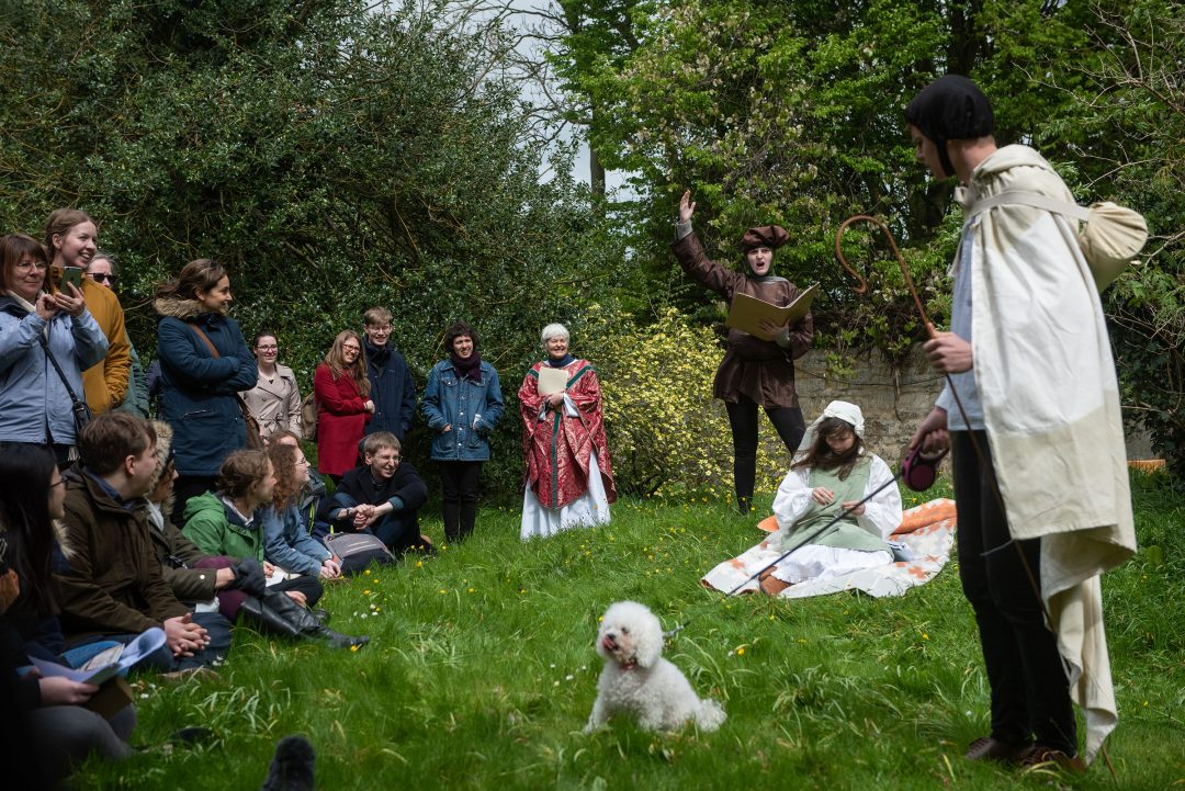 Oxford Medieval Mystery Play: Shepherds
