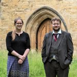 James Howarth and Sophie Quantrell, Librarian and Assistant Librarian