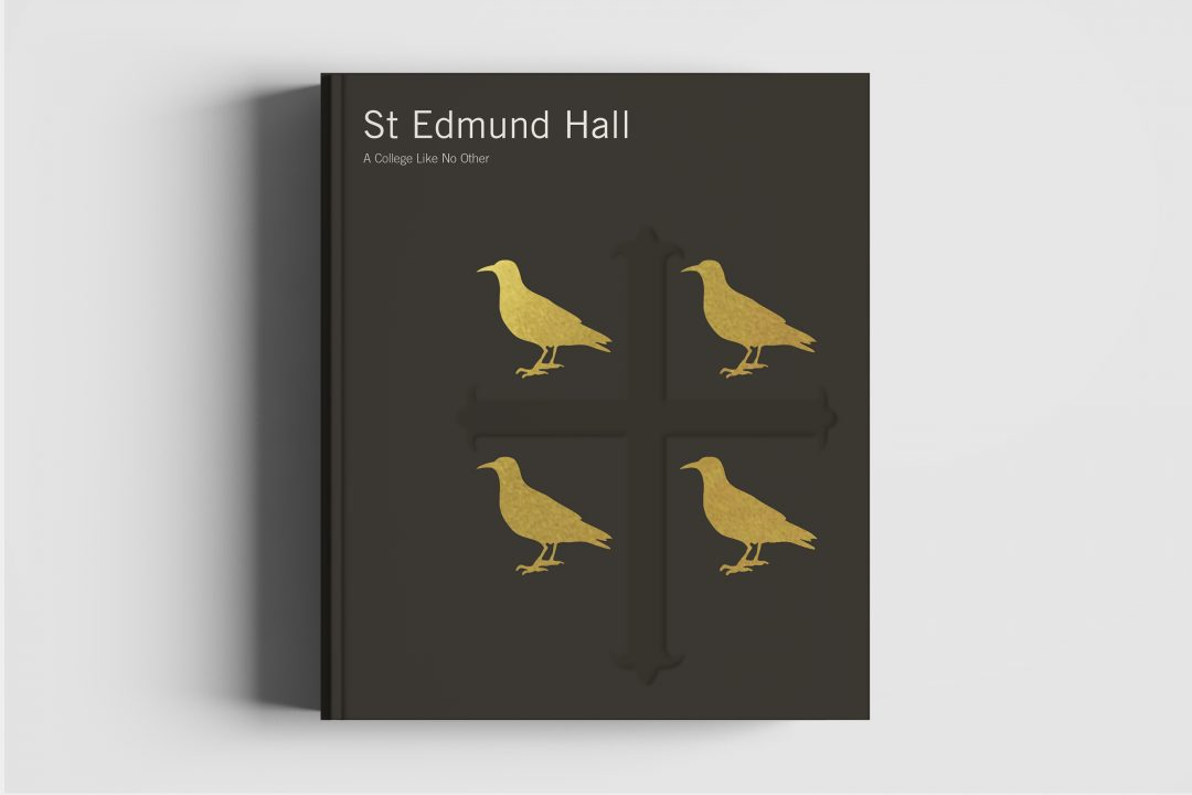 Cover of the book about St Edmund Hall, A College Like No Other