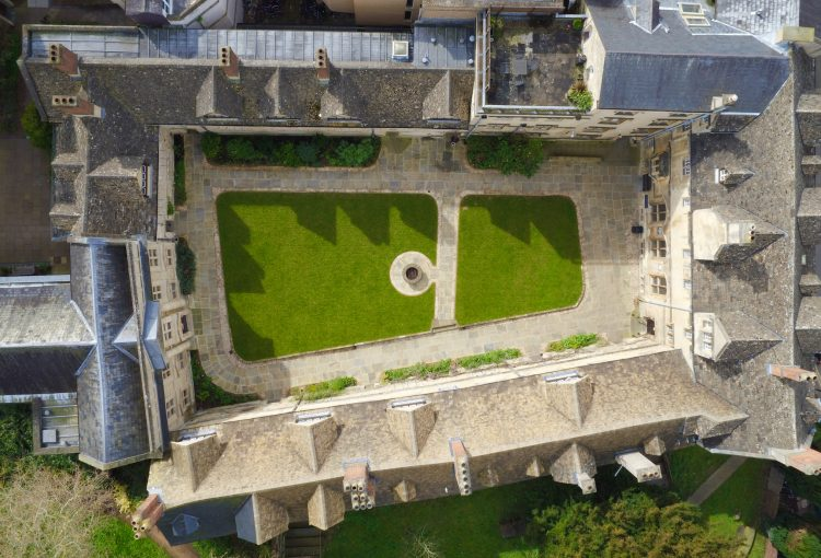 From Above (the Front Quad) by Theo Silkstone Carter