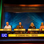The Teddy Hall alumni University Challenge team