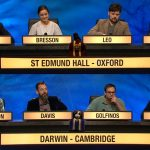 St Edmund Hall vs Darwin College in University Challenge