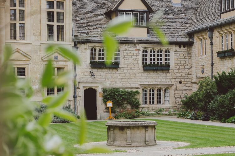 Well in the Front Quad of St Edmund Hall
