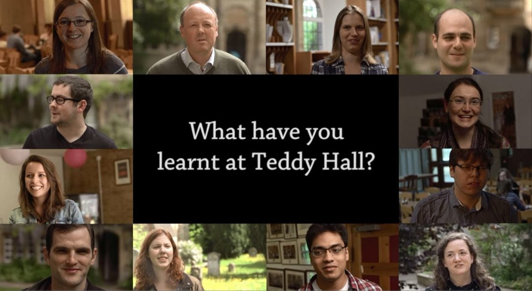 'What have you learnt at Teddy Hall?' video