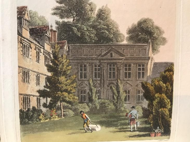 William Combe, A history of the University of Oxford, its colleges, halls, and public buildings. Volume II (London, 1814)