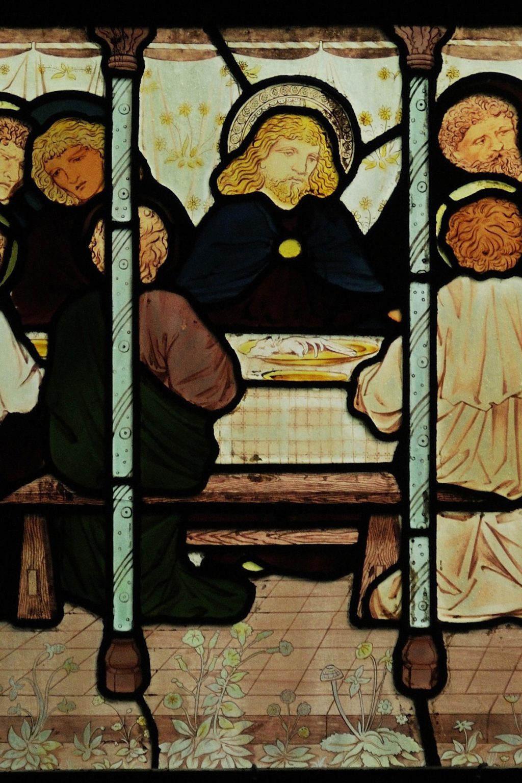 The Last Supper, in the East Window