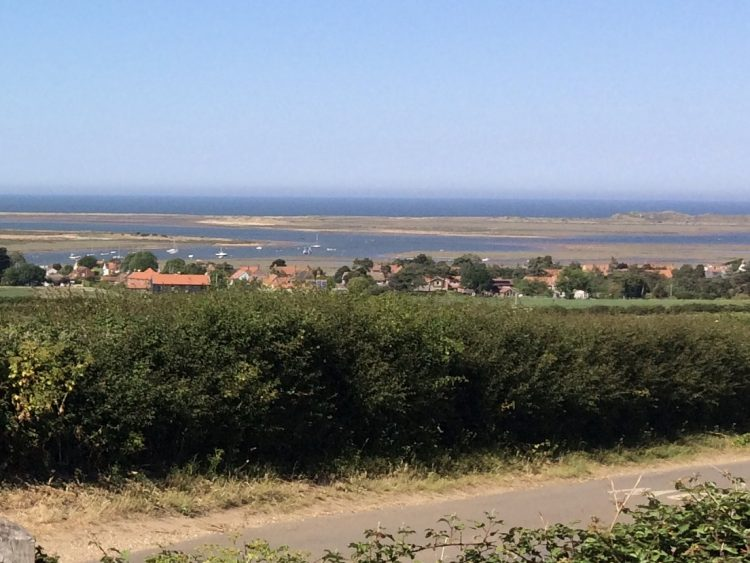 Brancaster Staithe from Barrow Common