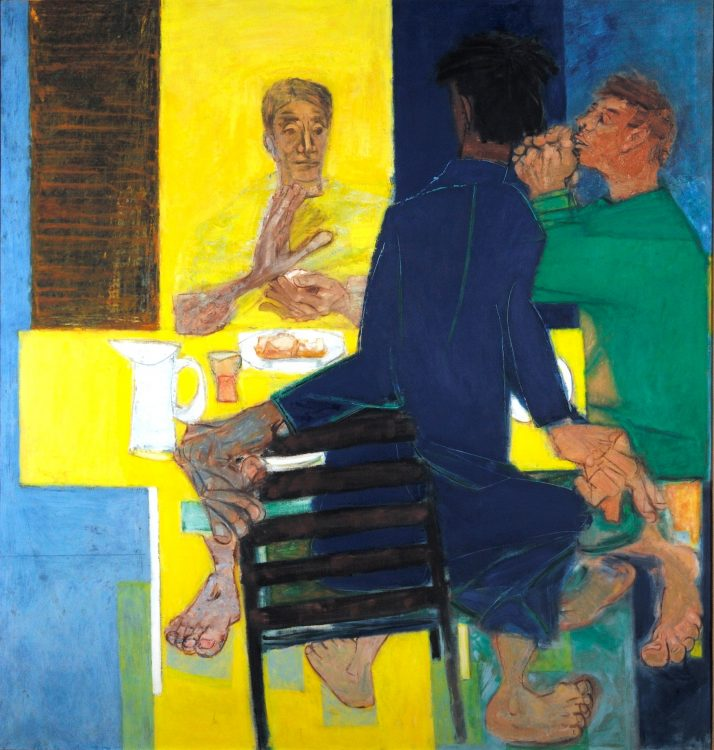 The Supper at Emmaus by Ceri Richards